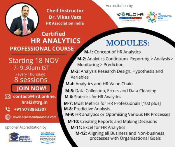 HR Analytics Course
